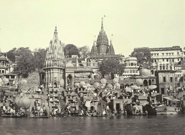 Manikarnika Ghat - Benares (Varanasi) 1905