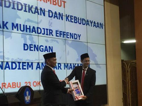 Mendikbud Nadiem Anwar Makarim