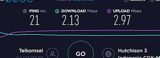 tes kecepatan internet indihome