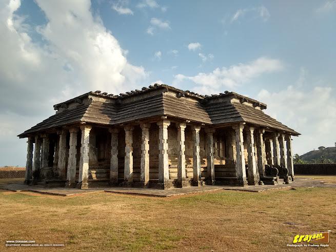 Tribhuvana Tilaka Jina Chaityalaya or Ratnatraya dhama, the Chaturmukha Basadi in Karkala, Udupi district, Karnataka, India