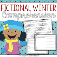 Winter Fictional Comprehension stories