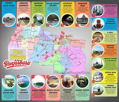 lokasi wisata banjarbaru
