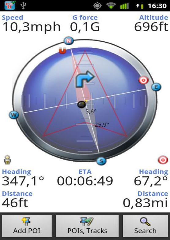 Download GPS Compass for PC free full version