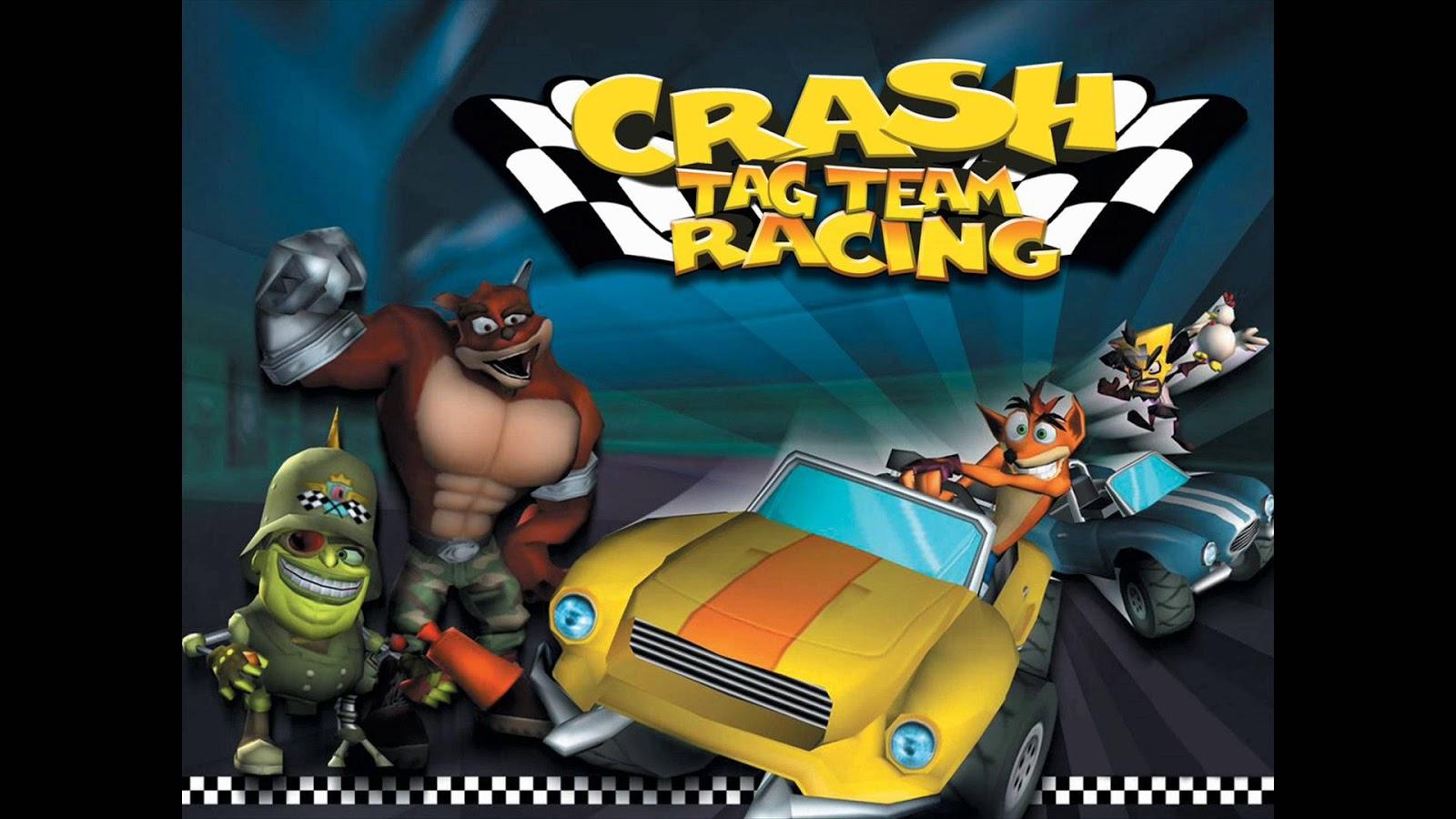 Download crash tag team racing psp iso