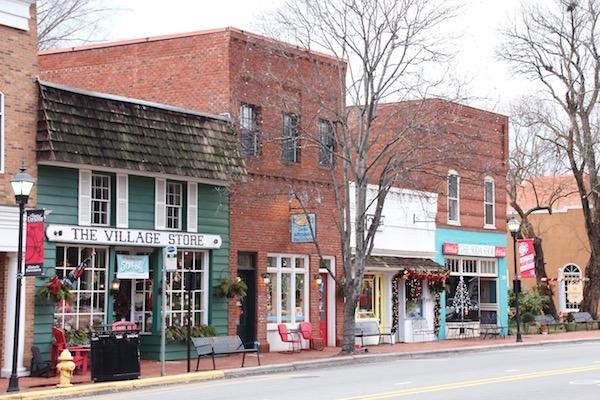 Main Street Davidson, NC