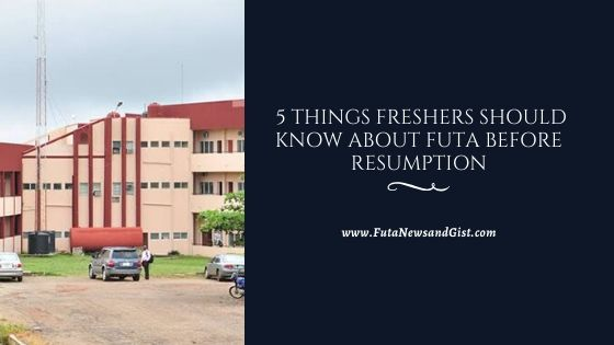 federal university of technology akure fresher