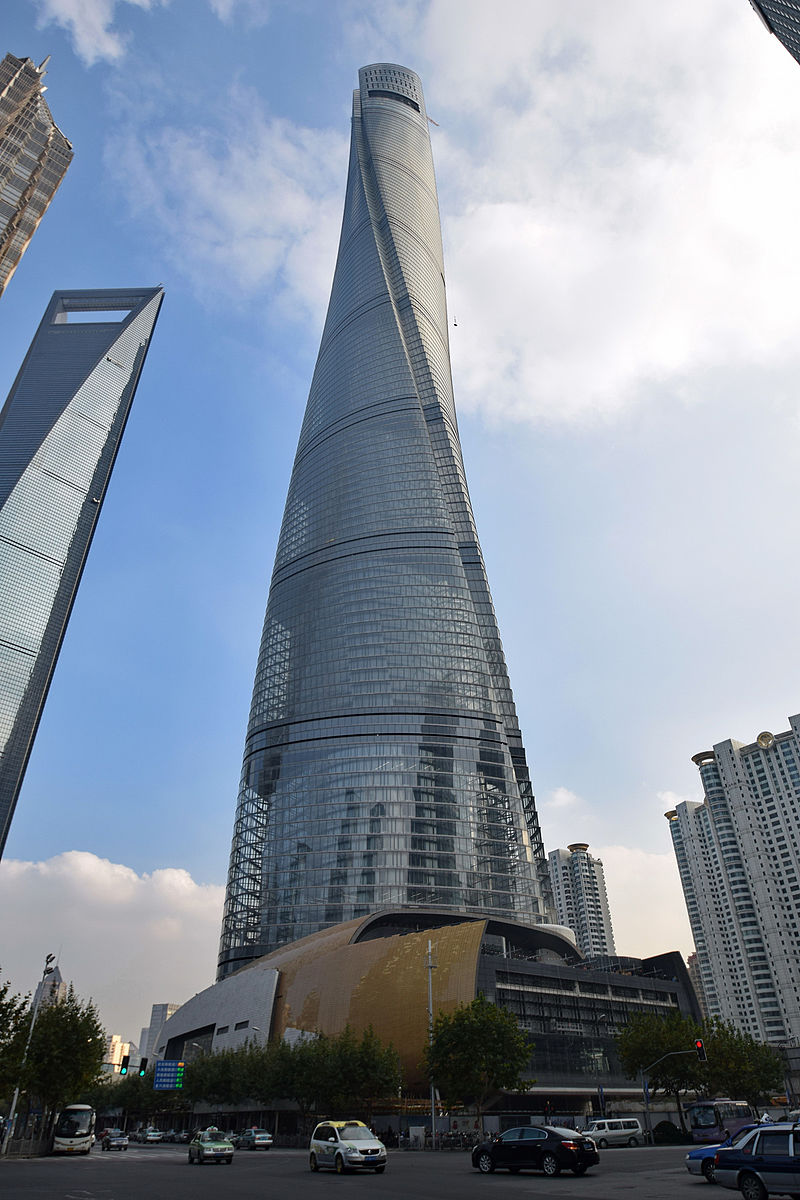 Shanghai Tower, tallest building in China