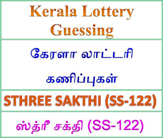 Kerala lottery guessing of STHREE SAKTHI SS-122, STHREE SAKTHI SS-122 lottery prediction, top winning numbers of STHREE SAKTHI SS-122, ABC winning numbers, ABC STHREE SAKTHI SS-122 04-09-2018 ABC winning numbers, Best four winning numbers, STHREE SAKTHI SS-122 six digit winning numbers, kerala lottery result STHREE SAKTHI SS-122,