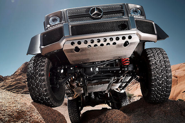 Mercedes G-Wagon Pickup Truck Reviews