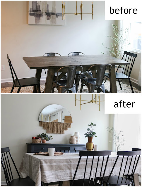 Disguising an ugly table and other budget-friendly makeover tips