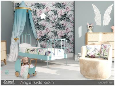 Симс 4, для The Sims 4, The Sims 4, моды для Sims 4, предметы для Sims 4, Severinka_, Sims 4, мебель, декор, детская комната, детская кровать, детская мебель, декор для детской, комната для ребенка,