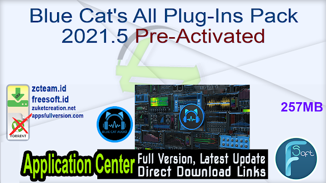 Blue Cat's All Plug-Ins Pack 2021.5 Pre-Activated_ ZcTeam.id