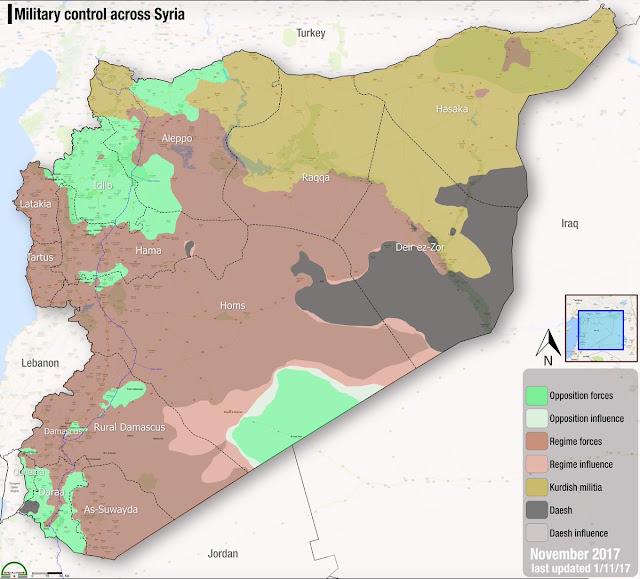 Siria, cerca del final de la guerra