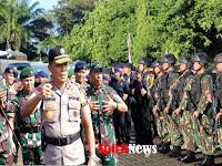 Kapolda Sulsel, Lepas Pasukan Brimob 1 SSK , Untuk Pengamanan di Wilayah Polda Papua