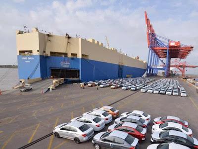 استيراد السيارات من الخارج إلى مصر