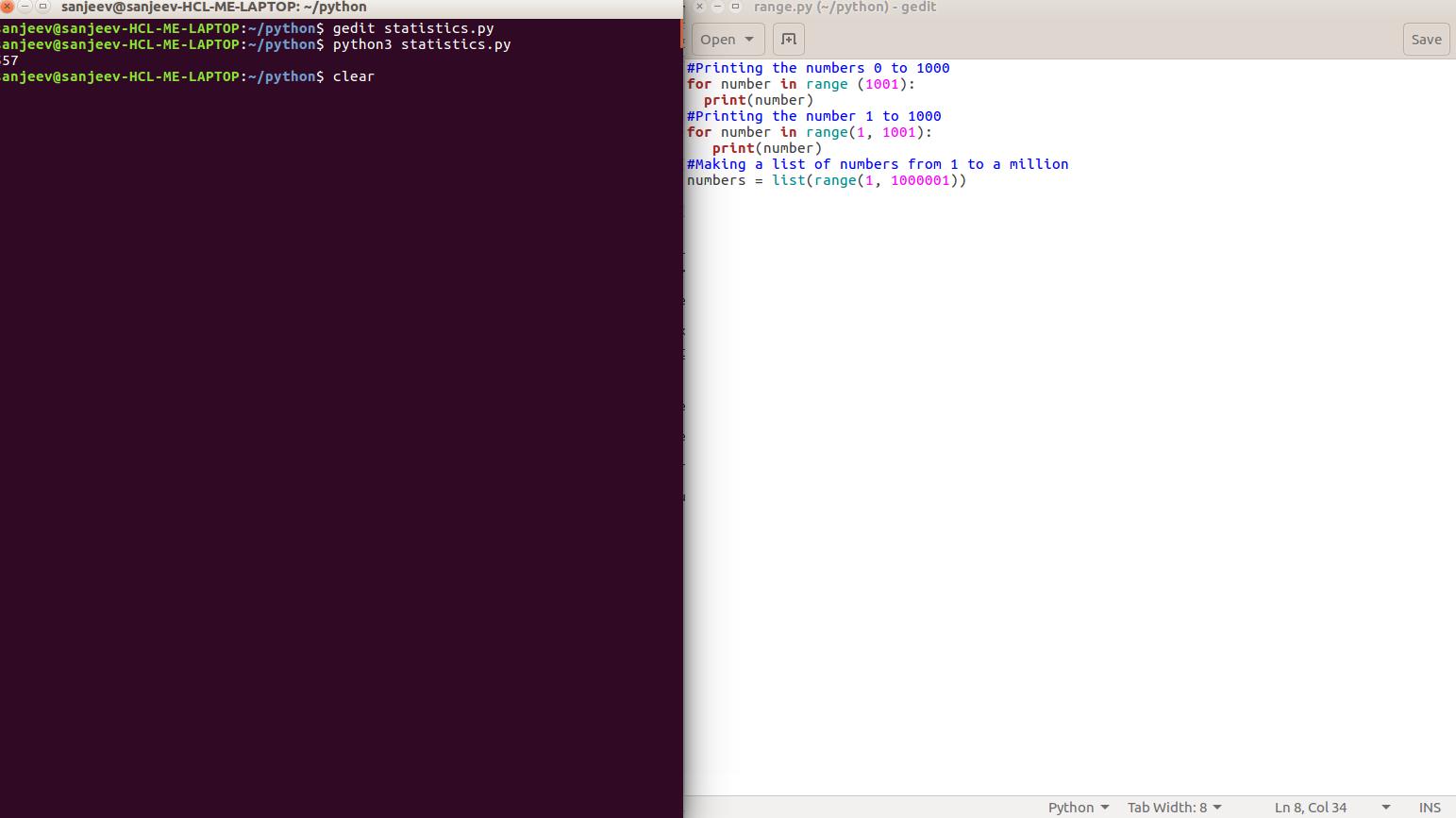 Python Range() function - Web Development and Design | Tutorial for