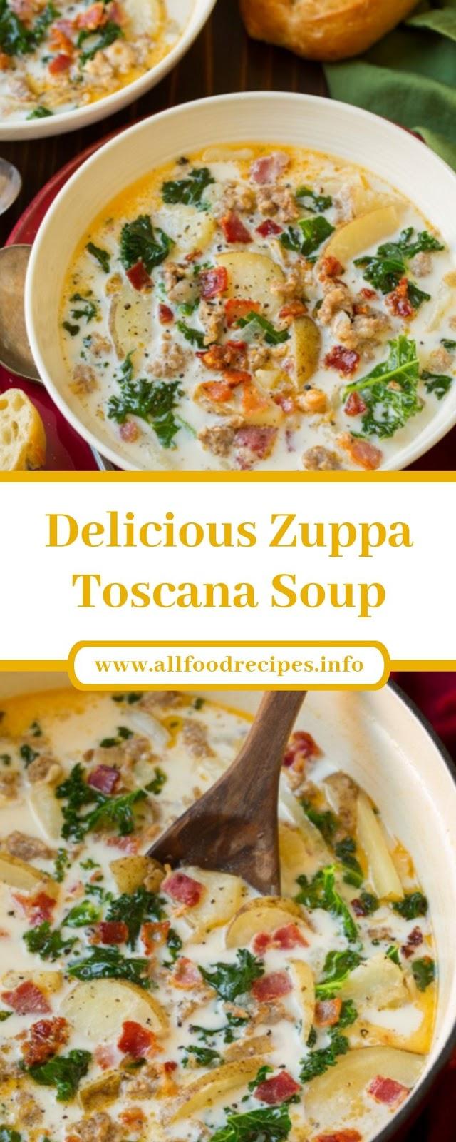 Delicious Zuppa Toscana Soup