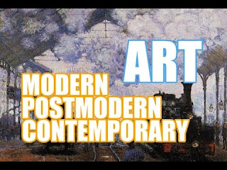 The Difference between Modern art, Postmodern art and Contemporary Art
