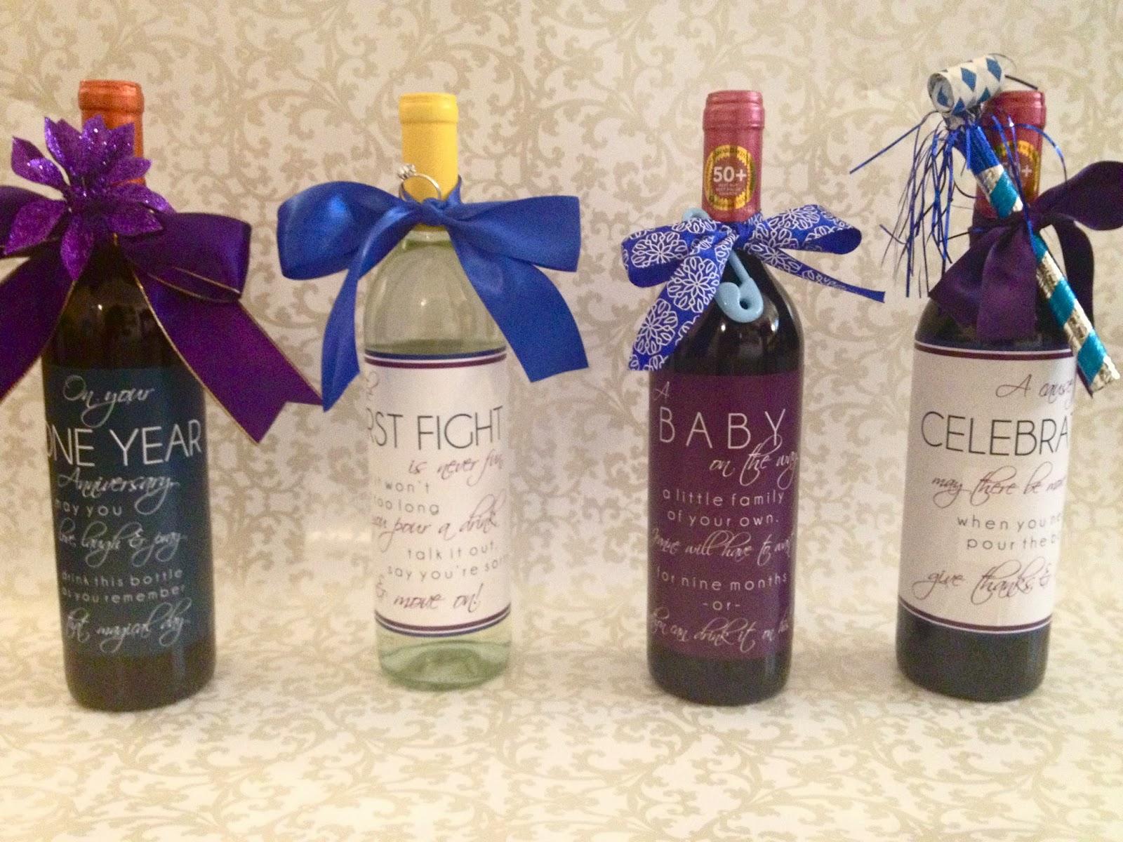 Meghan Henry Designs: Gift Idea: Personalized Wine Bottles