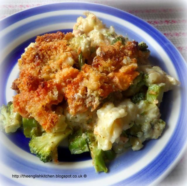 Salmon, Broccoli & Potato Gratin