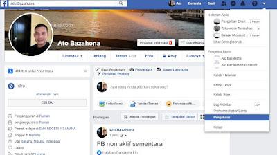 Cara Nonaktifkan Akun Facebook