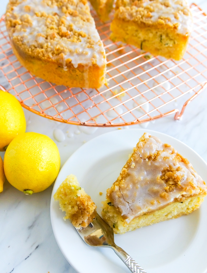 Lemon Zucchini Coffee Cake - featured on The Pioneer Woman Food & Friends