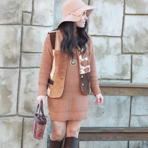 Clothink Sweater Dress