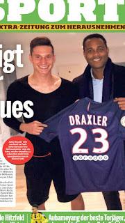 دراكسلر يمضي في باريس سان جيرمان