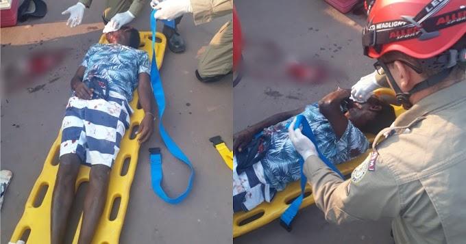Homem é vítima de esfaqueamento no bairro da Liberdade, em Itaituba