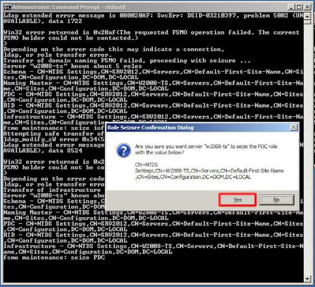 Traspaso de la función Emulador de PDC.