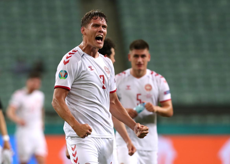 Dinamarca dio otro batacazo en la Eurocopa: derrotó a República Checa y es semifinalista