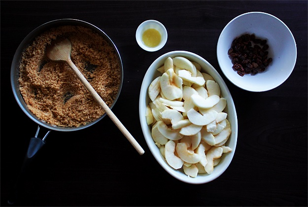 Apple Strudel ingredients