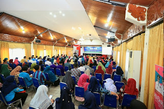 Wali Kota Membuka Acara Sosialisasi Gerakan Masyarakat Hidup Sehat di Gedung Serbaguna Pemkot Tarakan - Tarakan Info
