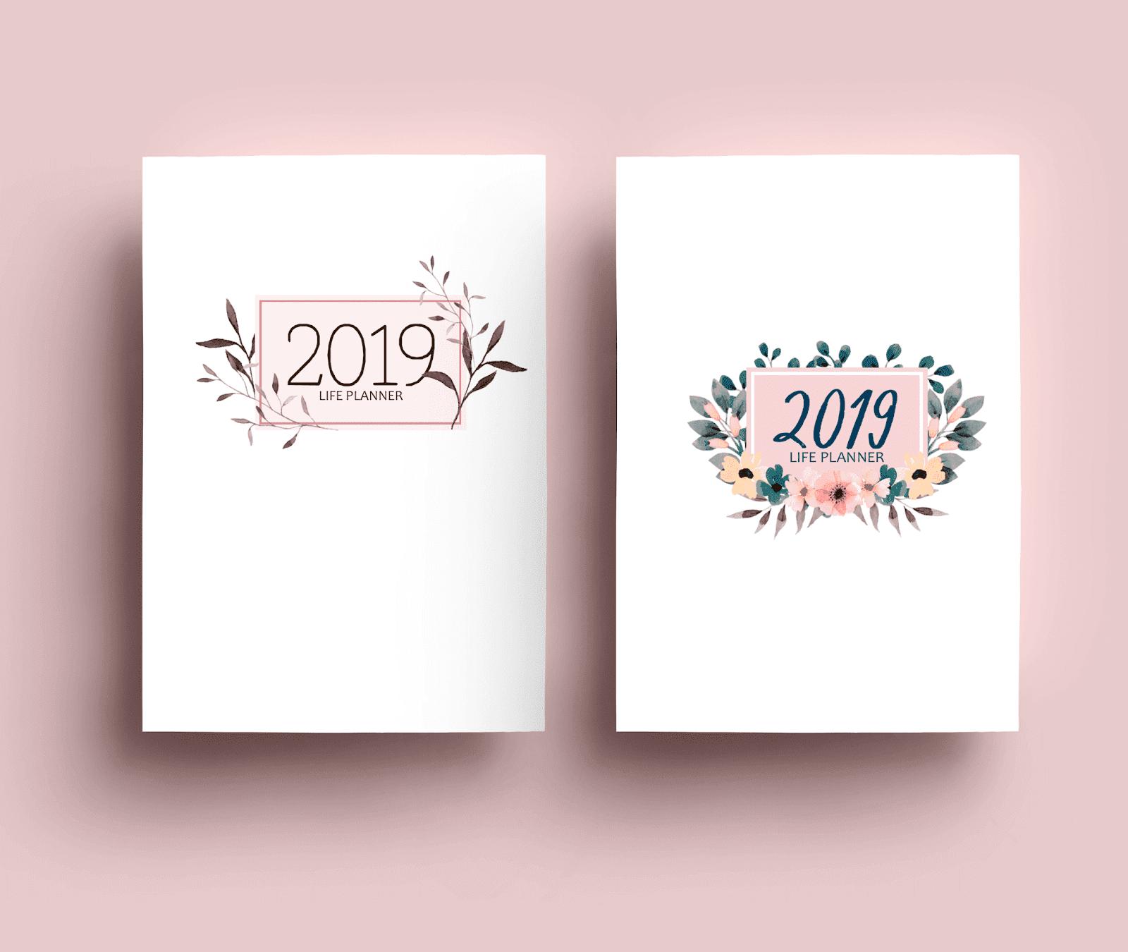 Planner Clean 2019 completo por R$20,00 (para imprimir)