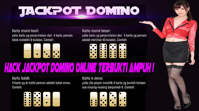 Hack Jackpot Domino Online Terbukti Ampuh !