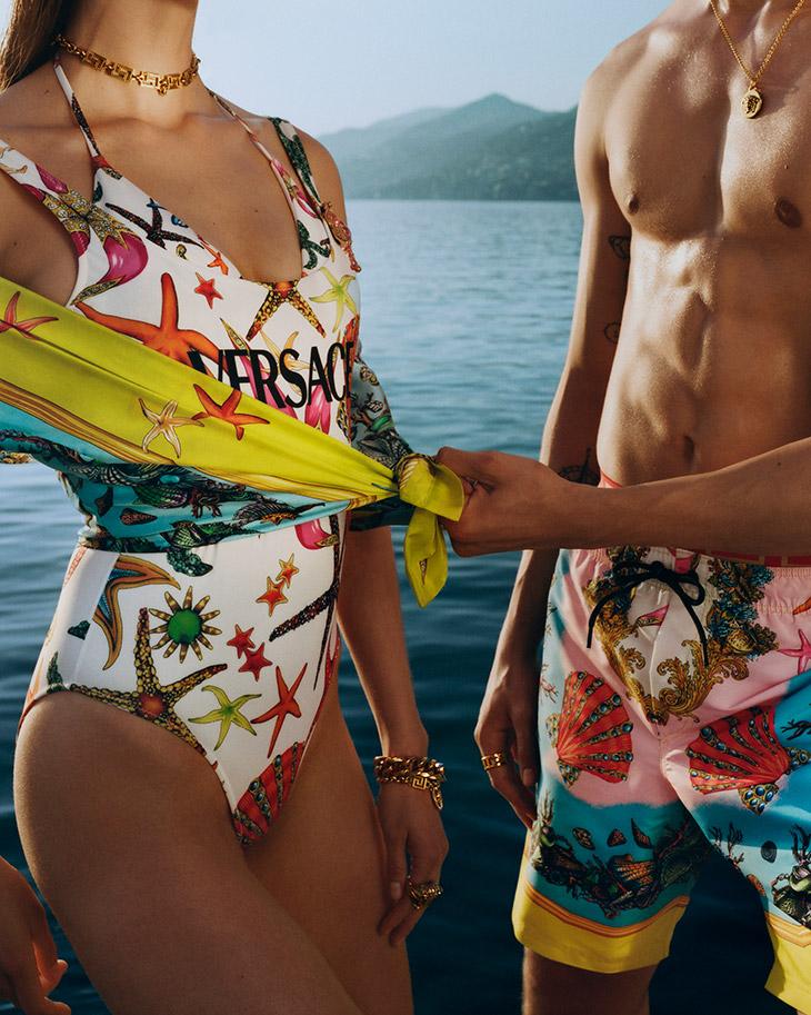 LA VACANZA MINI: VERSACE Summer 2021 Beachwear Collection