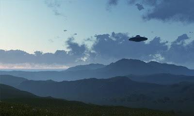 Wizja pojazdu UFO
