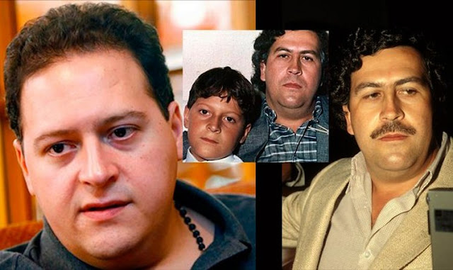 LA ADVERTENCIA DE E HIJO DE PABLO ESCOBAR