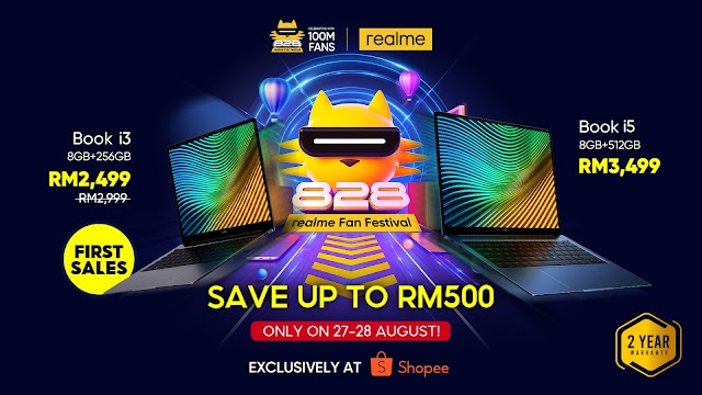 realme Malaysia Debuts realme Book this August!