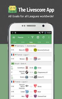 All Goals Football Live Scores v5.5 Ad Free APK