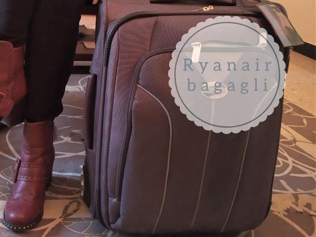 Ryanair: le regole per il bagaglio