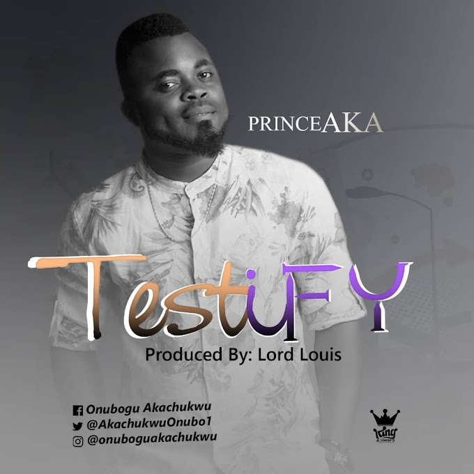 Music + Lyrics: Testify - Prince AKA || @Akachukwuonubo1