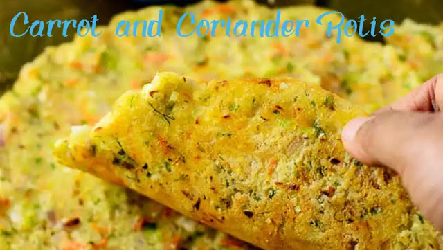 Gluten-Free Carrot and Coriander Rotis Recipe at Home