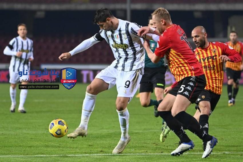 موعد مباراة يوفنتوس و بينيفينتو الدوري الايطالي