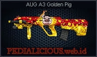 AUG A3 Golden Pig
