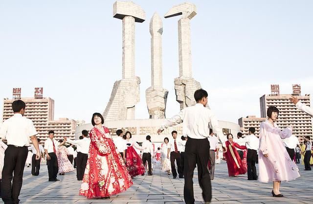 North Korea Mass Dance