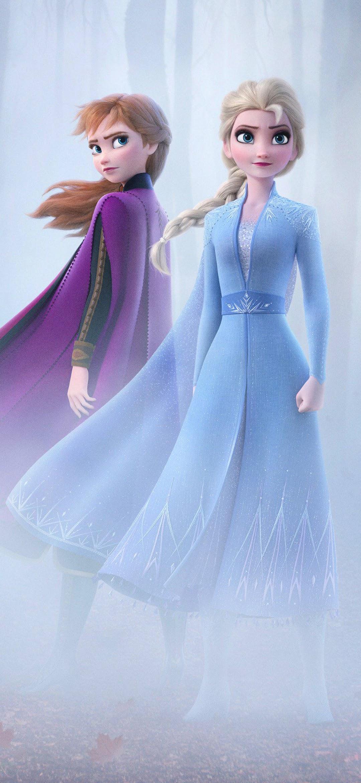 Frozen 2 Elsa Anna 4K Wallpaper #13