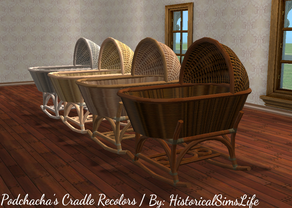 Ts2 Podchacha S Cradle Recolors History Lover S Sims Blog