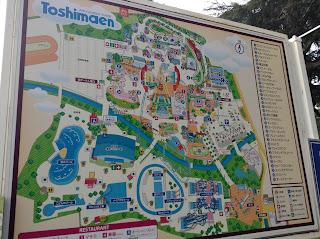 Toshimaen map