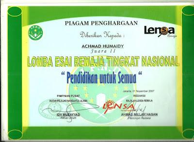 pemenang lomba esai tentang pendidikan